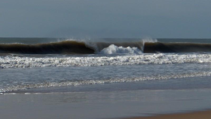 Surf report Saint-Palais-sur-Mer - Grande Côte - France (17) 2010-02-08 12:00:00