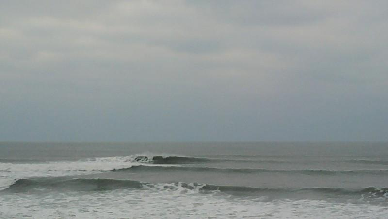 Surf report Lacanau Océan - La Nord - France (33) 2010-02-12 17:00:00