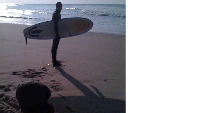 Surf report Lacanau Océan - La Nord - France (33) 2010-01-27 15:00:00
