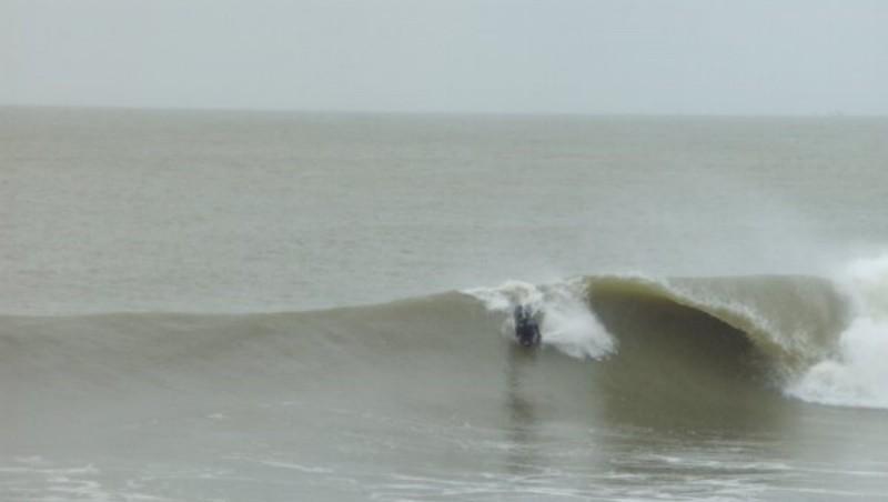Surf report Soulac - L'Amélie - France (33) 2010-02-27 14:00:00
