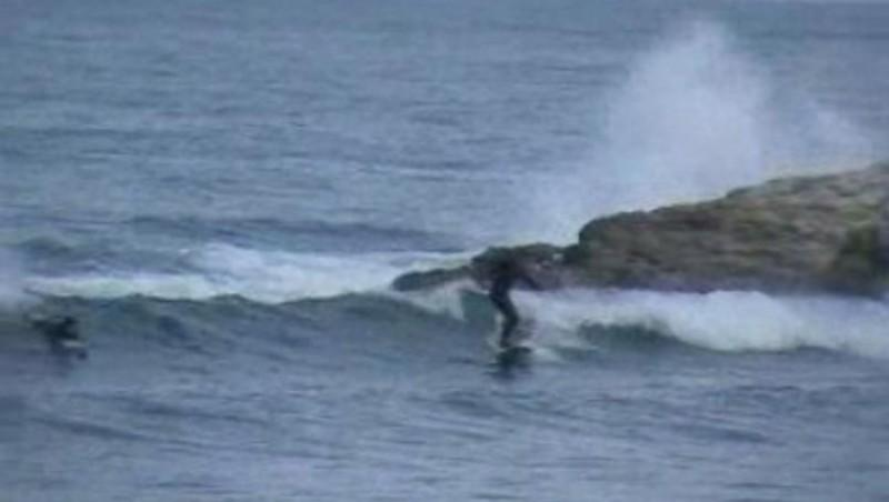 Surf report Beaulieu sur Mer - Niven - France (06) 2010-02-28 14:00:00