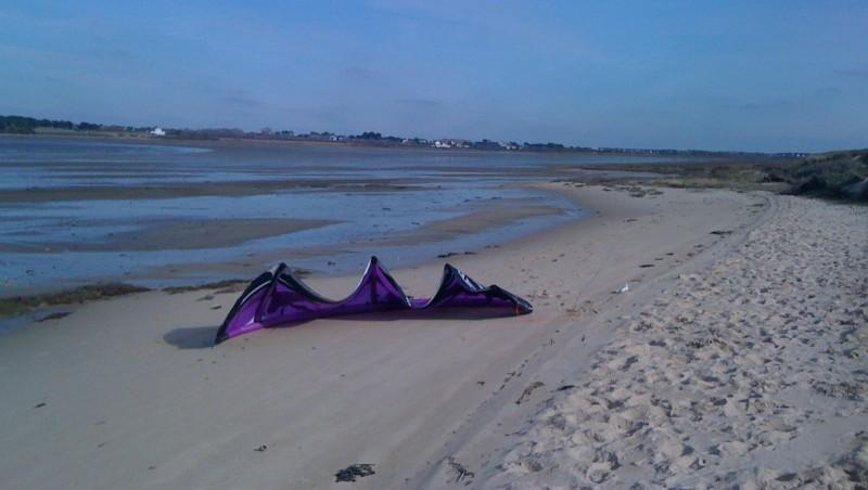 Wind report La Tourelle - France (56) 2010-03-02 14:00:00