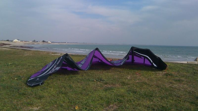 Wind report La Tourelle - France (56) 2010-03-04 14:00:00
