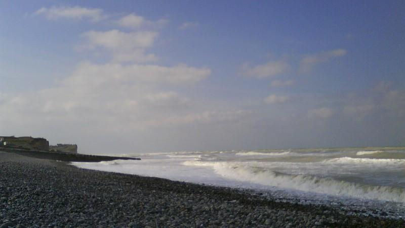 Wind report St Aubin - France (76) 2010-03-06 10:00:00