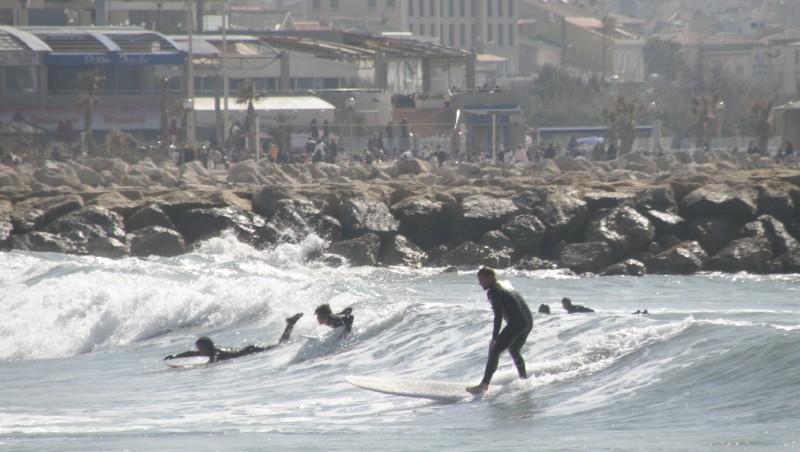 Surf report Le Prado - France (13) 2010-03-14 13:00:00