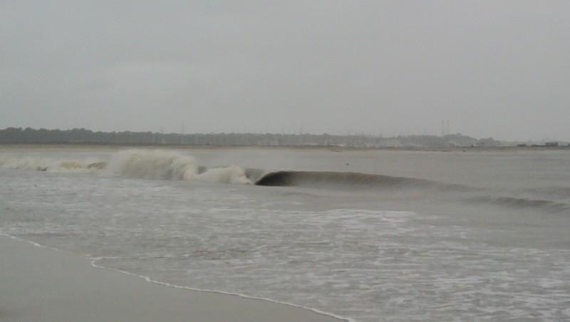 Surf report Pointe de Grave - France (33) 2010-04-03 10:00:00