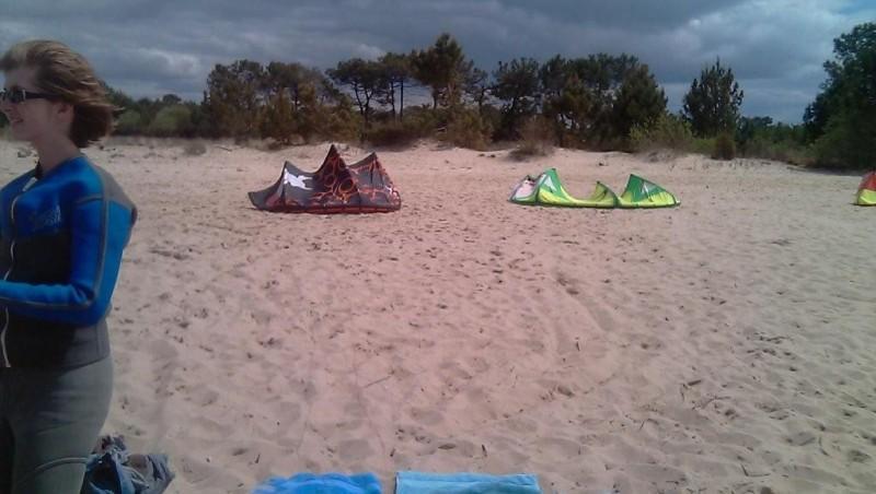 Wind report Hourtin port - France (33) 2010-05-01 14:00:00