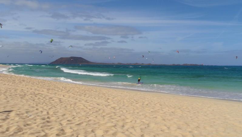 Wind report Flag Beach - Fuerteventura - Espagne (ES) 2010-05-03 16:00:00