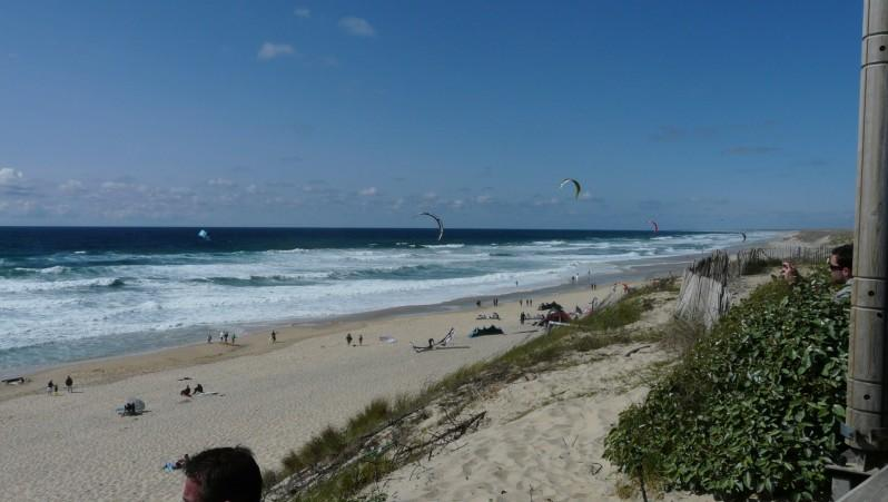 Wind report Biscarrosse Plage - France (40) 2010-05-15 17:00:00