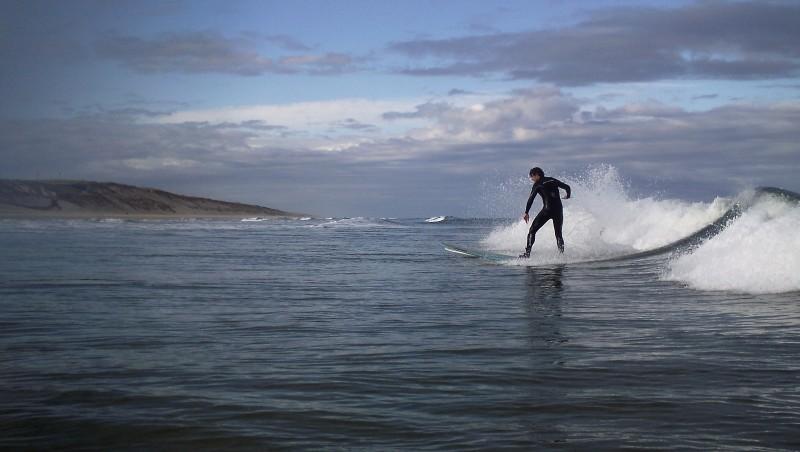 Surf report Carcans Océan - France (33) 2010-05-15 07:00:00