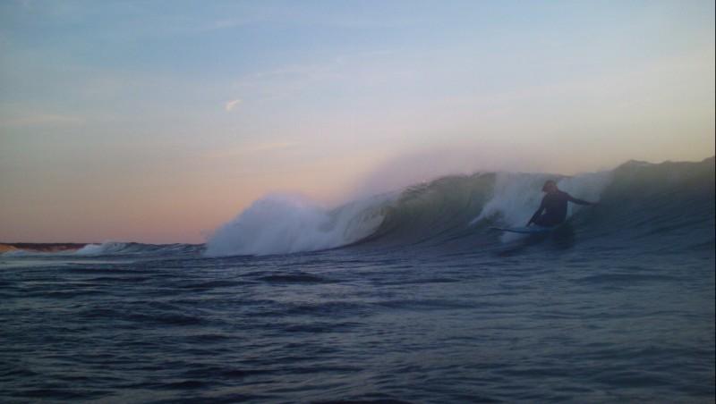 Surf report Soulac sur Mer - France (33) 2010-05-22 20:00:00