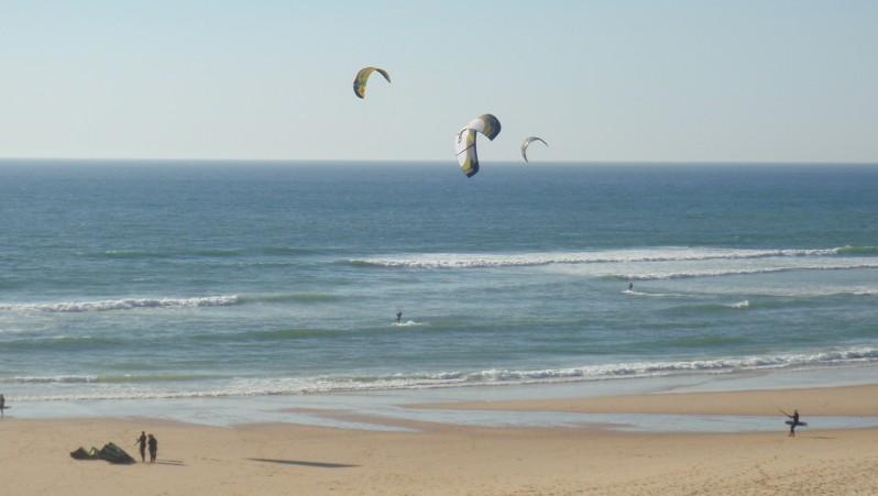Wind report Biscarrosse Plage - France (40) 2010-05-21 19:00:00