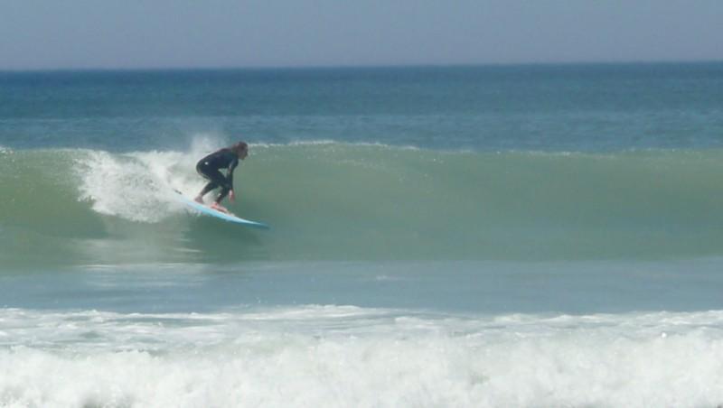 Surf report Carcans Océan - France (33) 2010-05-22 11:00:00