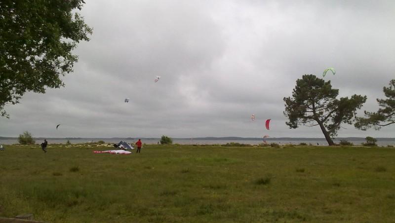Wind report Lacanau Lac - France (33) 2010-05-30 15:00:00