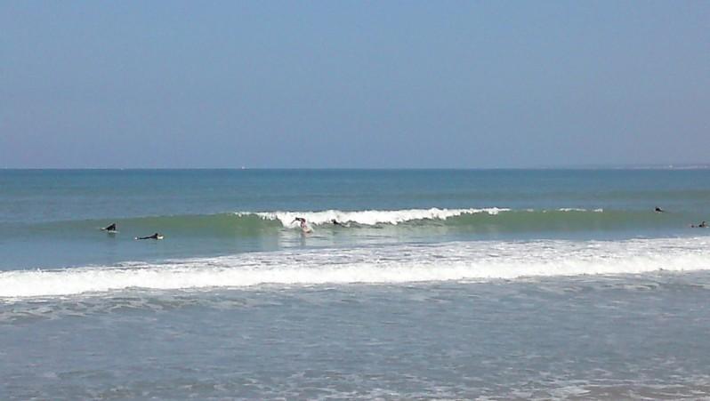 Surf report La Térrière - France (85) 2010-07-04 11:00:00