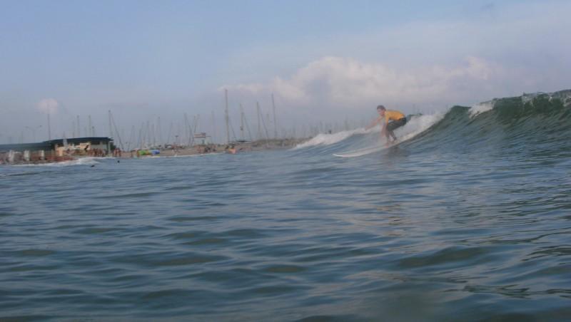 Surf report Palavas-les-Flots - Rive Droite - France (34) 2010-07-14 19:00:00