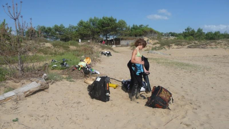 Wind report La Palmyre - Bonne-Anse - France (17) 2010-07-15 14:00:00
