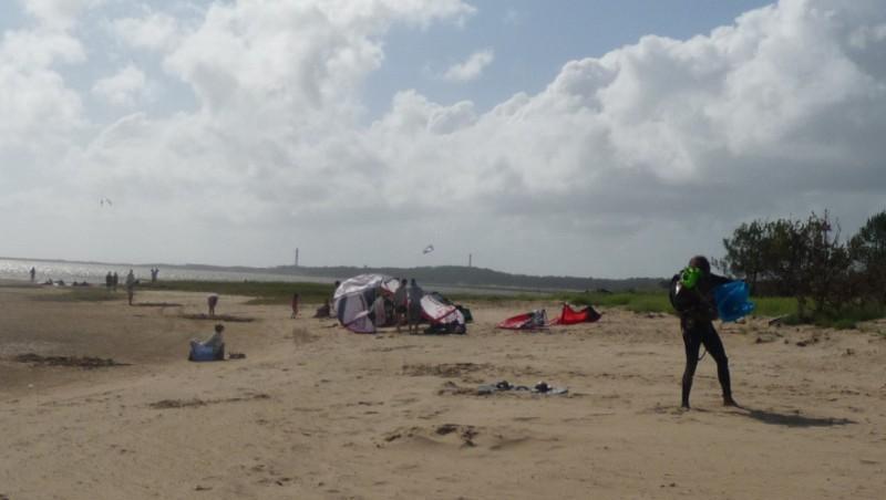 Wind report La Palmyre - Bonne-Anse - France (17) 2010-07-15 15:00:00