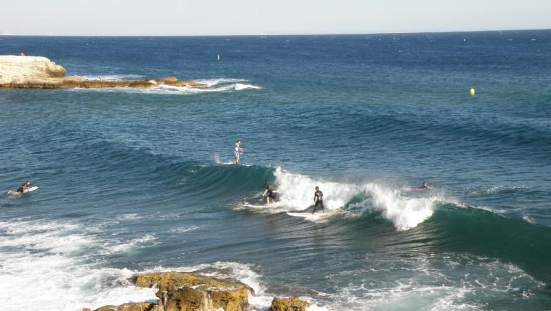Surf report L'Arquet - France (13) 2010-07-23 19:00:00