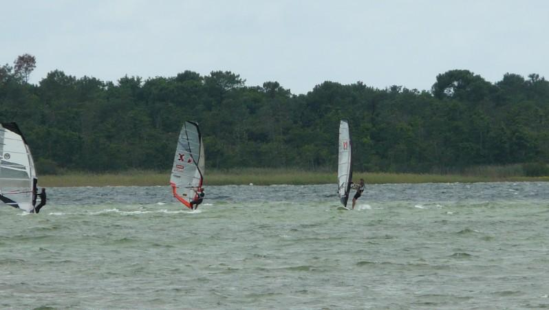 Wind report Les Aigrettes - France (40) 2010-07-23 13:00:00