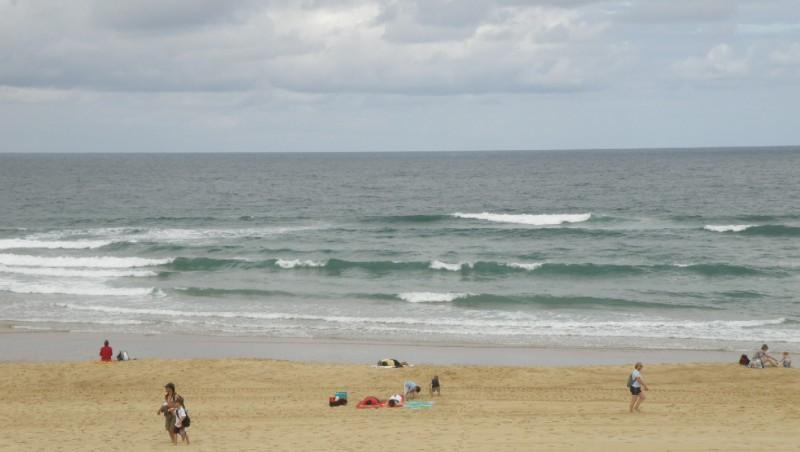 Surf report Vieux Boucau - France (40) 2010-07-29 10:00:00