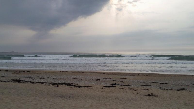 Surf report Penthièvre - France (56) 2010-09-22 18:00:00