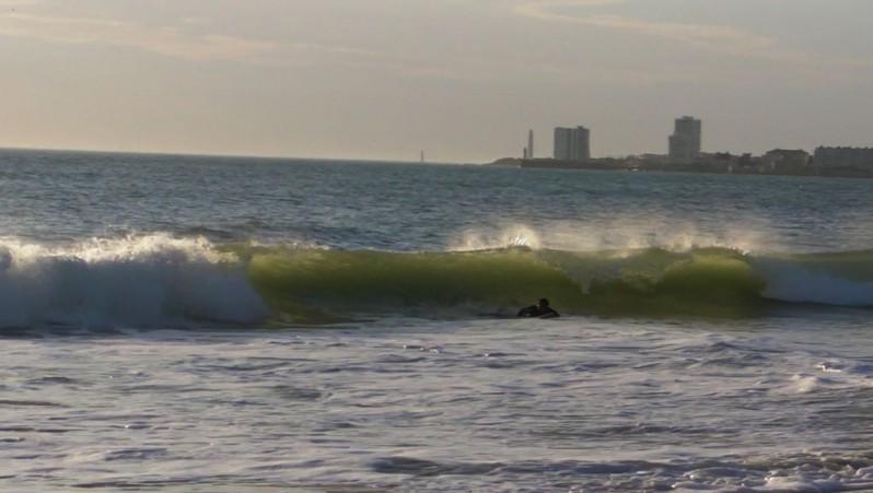 Surf report Les Sables-d'Olonne -  Le Tanchet - France (85) 2010-10-08 18:00:00