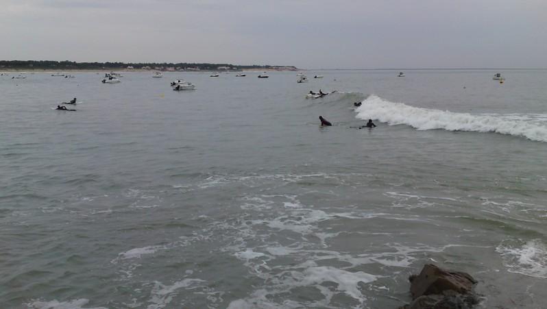 Surf report La Tranche sur Mer - La jetée - France (85) 2010-10-09 17:00:00