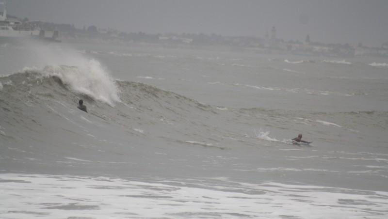 Surf report Pointe de Grave - France (33) 2010-10-09 16:00:00