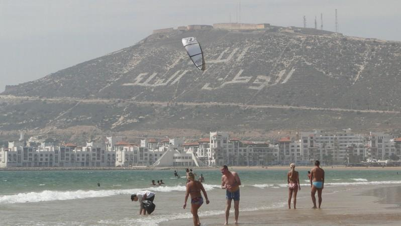 Wind report Baie d'Agadir - Maroc (MA) 2010-09-06 14:00:00