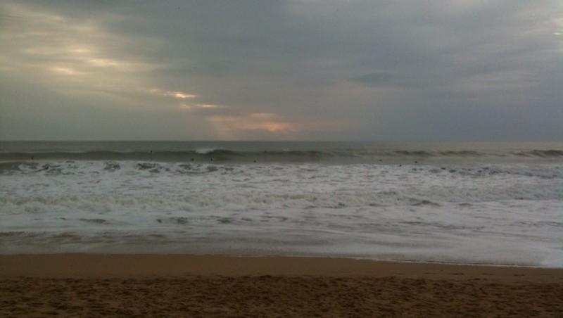 Surf report Plage des Dunes - France (85) 2010-10-10 16:00:00