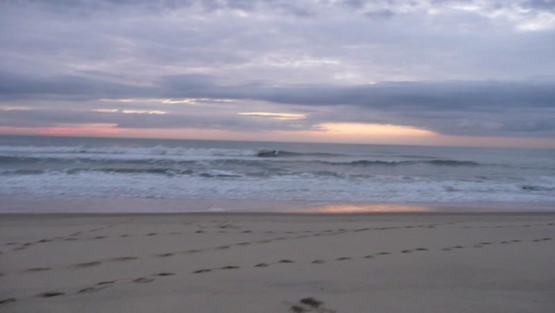 Surf report Carcans Océan - France (33) 2010-10-11 18:00:00