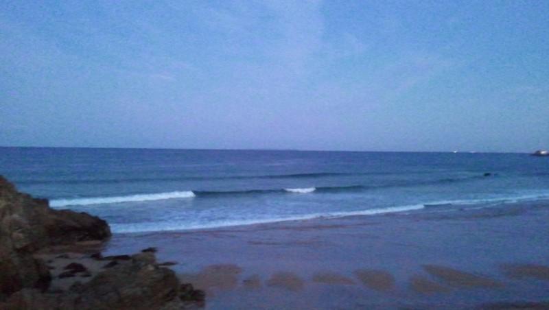 Surf report Quiberon - Port Blanc - France (56) 2010-10-21 08:00:00