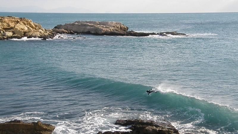 Surf report L'Arquet - France (13) 2010-01-10 13:15:00
