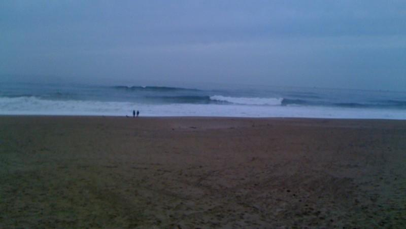 Surf report Anglet Corsaires - France (64) 2010-01-17 16:00:00