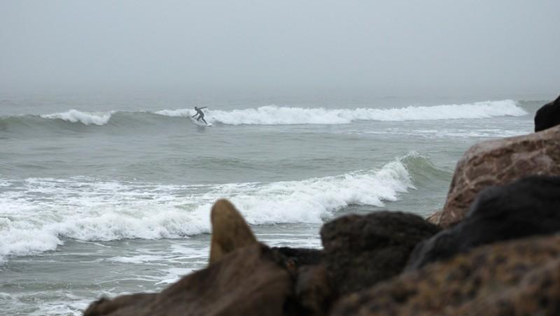Surf report Wimereux - France (62) 2010-01-18 15:00:00