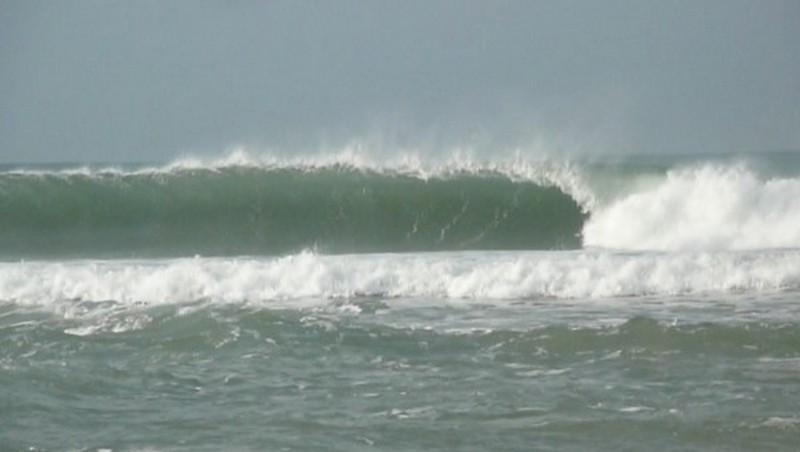 Surf report Carcans Océan - France (33) 2010-01-19 13:00:00