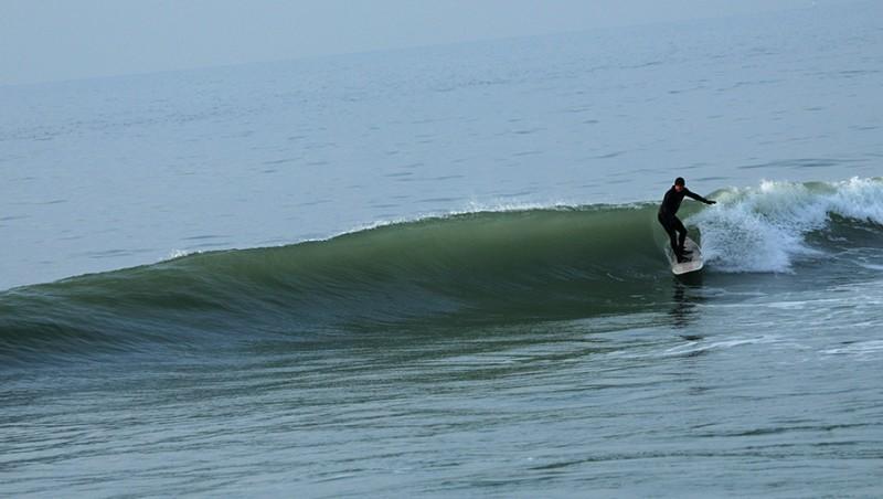 Surf report Wimereux - France (62) 2010-01-21 15:30:00