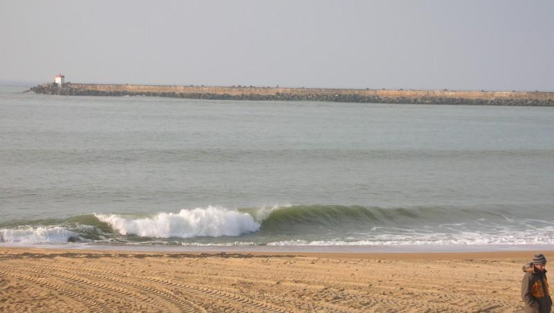 Surf report Anglet La Barre - France (64) 2010-01-27 16:00:00