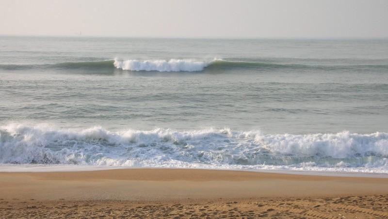 Surf report Anglet Les Cavaliers - France (64) 2010-01-27 16:00:00