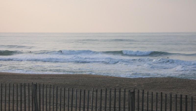 Surf report Anglet La Madrague - France (64) 2010-01-27 17:15:00