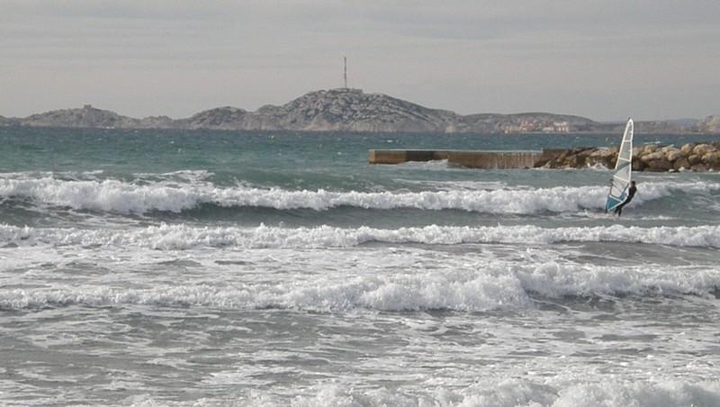 Surf report Le Prado - France (13) 2010-01-29 14:45:00