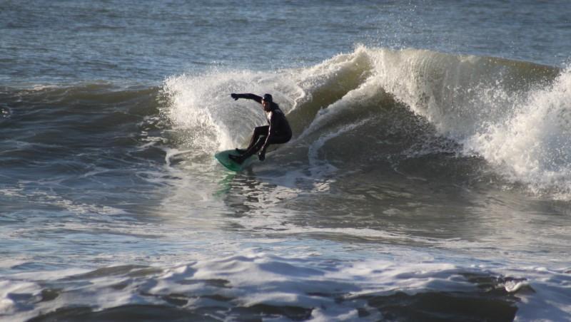 Surf report Lacanau Océan - La Nord - France (33) 2010-01-31 15:30:00