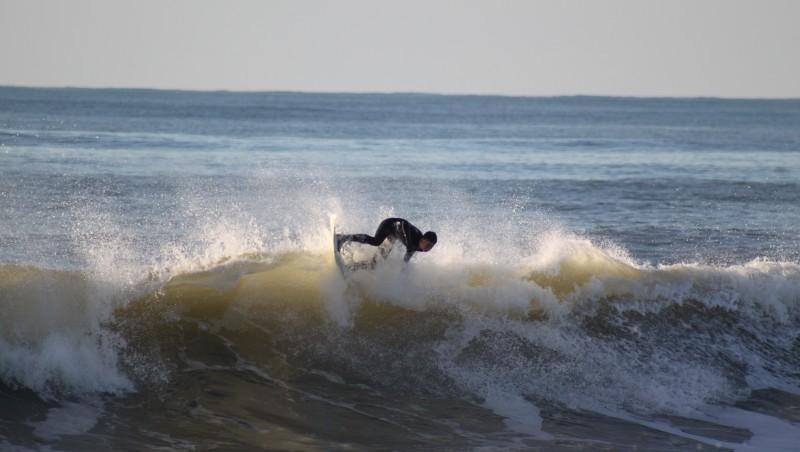 Surf report Lacanau Océan - La Nord - France (33) 2010-01-31 16:30:00
