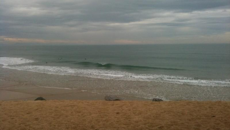 Surf report Capbreton - Le Santosha - France (40) 2010-02-04 12:00:00