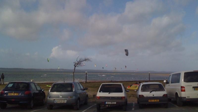 Surf report Arcachon - Les Arbousiers - France (33) 2010-02-05 15:05:00