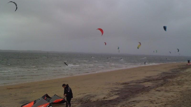 Surf report Arcachon - Les Arbousiers - France (33) 2010-02-06 14:25:00