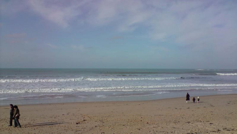 Surf report Plage des Dunes - France (85) 2010-02-07 12:00:00