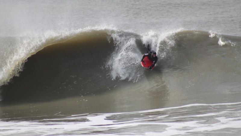 Surf report Soulac sur Mer - France (33) 2010-02-07 14:00:00