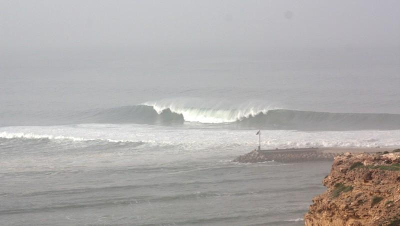 Surf report Baie d'Imessouane - Maroc (MA) 2010-02-08 09:00:00